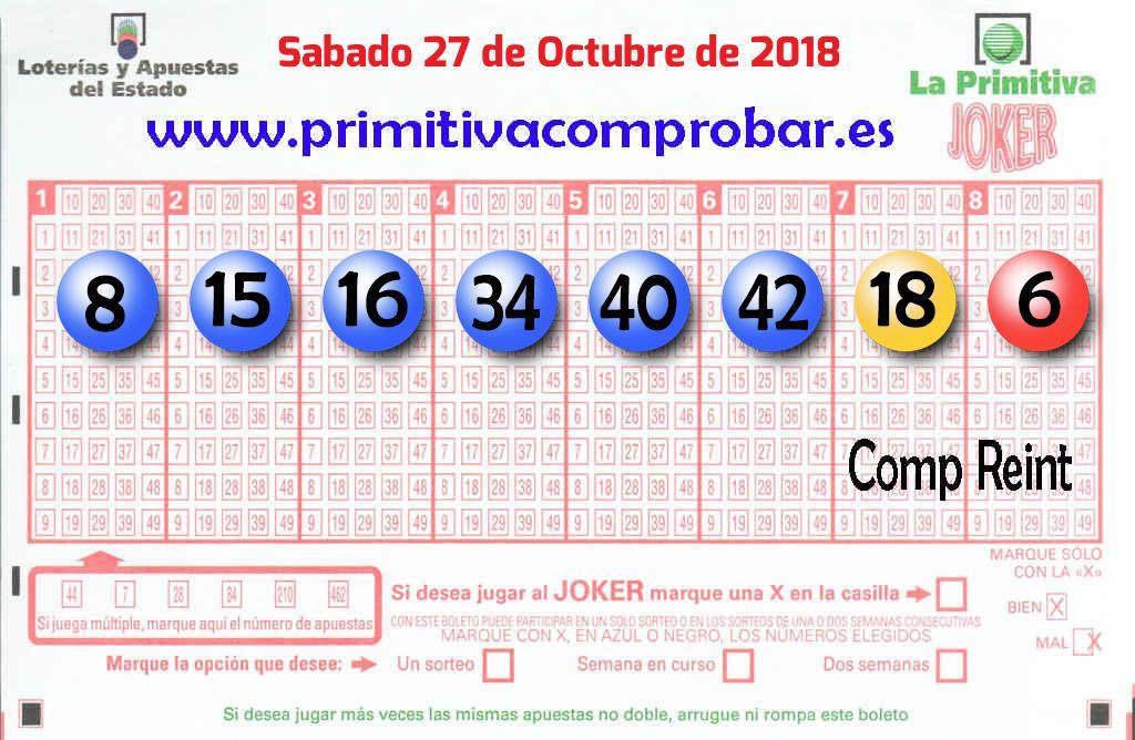 El primer premio de La Primitiva deja 426.000 euros en Viladecans