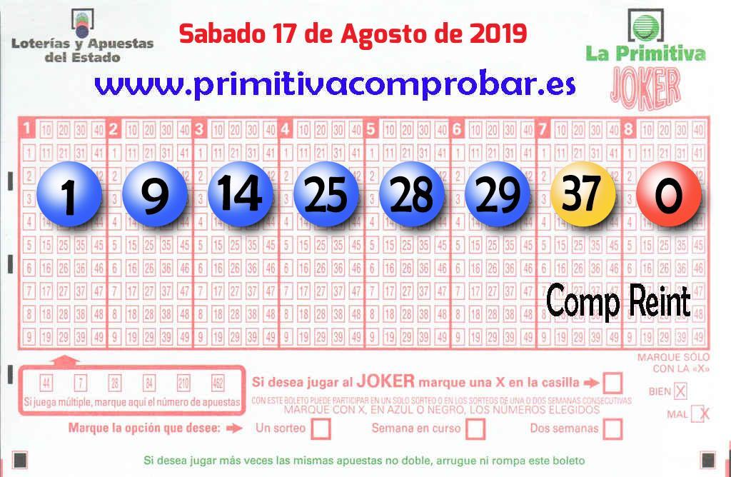 El primer premio de   La Primitiva cae en Madrid