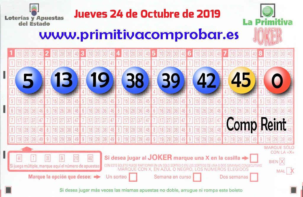 Un acertante gana en Burgos  1.551.000 euros en La Primitiva