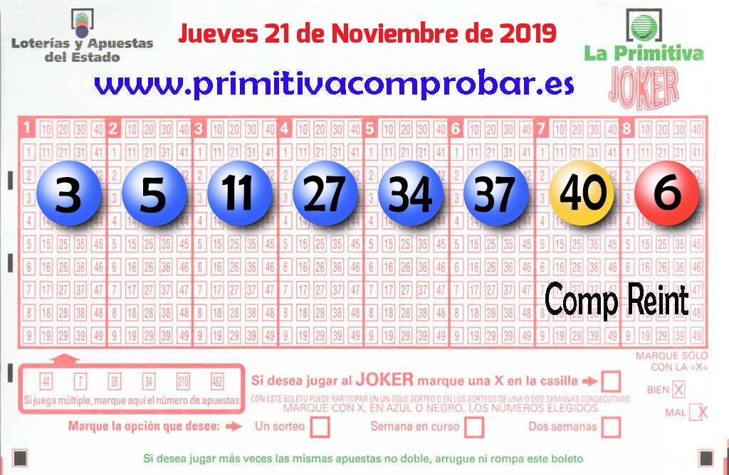 El primer premio de La Primitiva, vendido en Las Palmas Gc (Las Palmas)