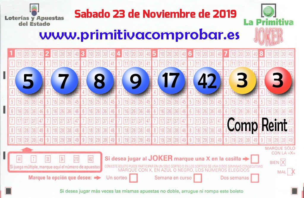 Un acertante de La Primitiva gana en San Jose De La Rinconada 603.000 euros