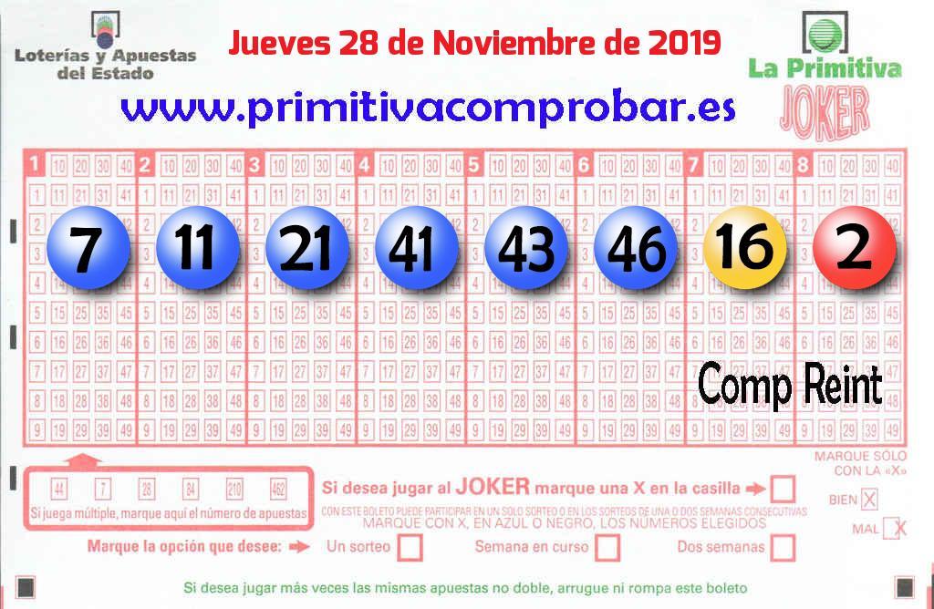 La Primitiva de este Jueves reparte 724.000 euros en Alcalá De Henares