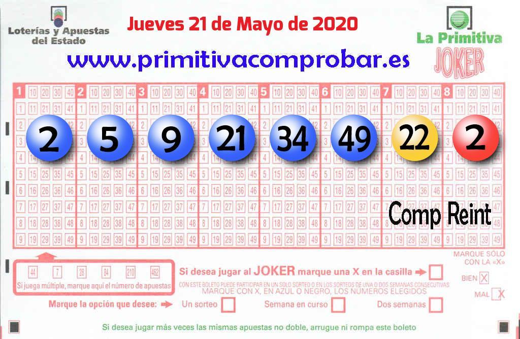 Un acertante de La Primitiva gana en Madrid 223.000 euros