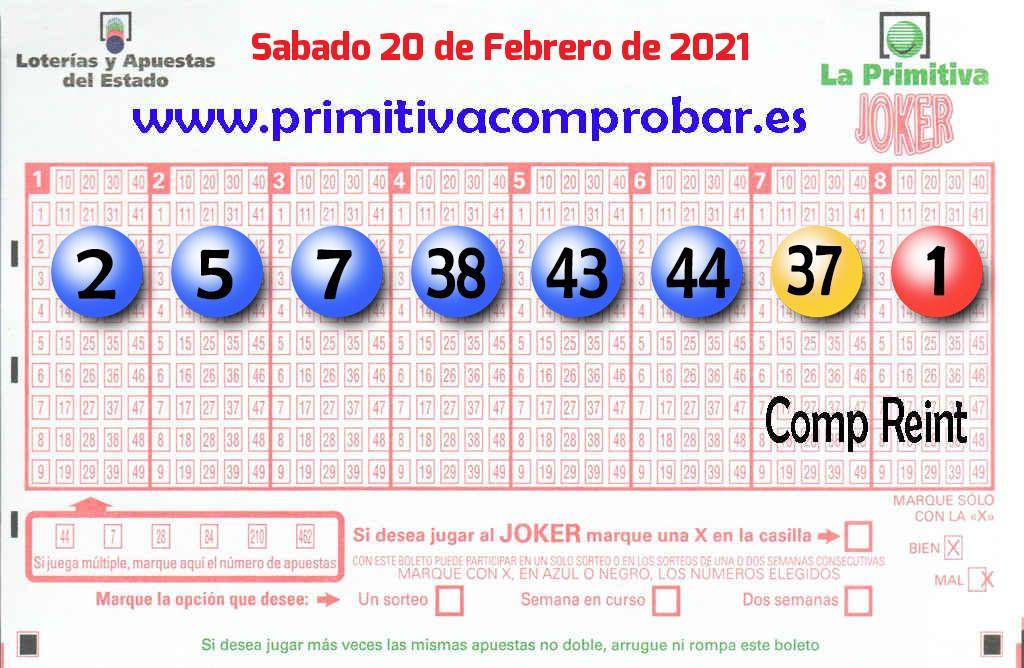 Un acertante de La Primitiva gana en Huelva 1.553.000 euros